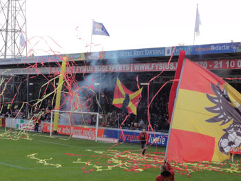 Fans der Go Ahead Eagles Deventer