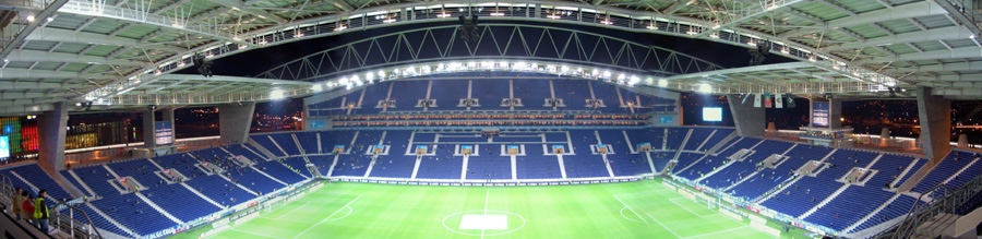 Das Estadio Dragao in Porto