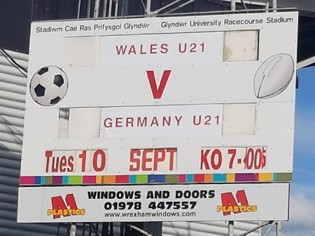 Wales U21 vs Germany U21